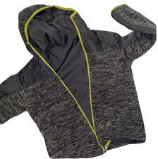 Boys 7/8 Lightweight Hooded Reversible Windbreaker School  Jacket Rugged Bear