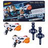 New Nerf Laser Ops Pro AlphaPoint 2-Pack Blasters & Armbands Hasbro Official
