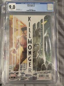 KILLMONGER #1 NM MARVEL COMICS 1ST PRINT CGC 9.0