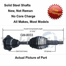 2002-2006 CHEVROLET AVALANCHE 1500 CV Axle Shaft-New Front-Left/Right