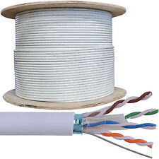 305m Cat6 FTP / STP Blindé Câble Bobine / drum-pure copper-ethernet réseau lan rj45