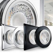 LED Einbaustrahler Einbauleuchte Downlight Deckeneinbauspot Lampe Set 12V / 230V