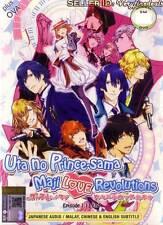 Uta no Prince Sama DVD Complete Season 3: Revolutions + OVA Anime- USA Ship Fast
