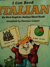 I can Read Italian: My First English-Italian Word Book LEARNING ISBN 085654034X