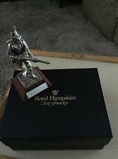 Royal Hampshire Pewter Figure The 61st South Gloucesters Alexandria 1801
