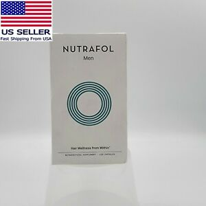 NUTRAFOL for MEN 120 Caps MEN'S Hair Growth SEALED BOX EXP 03/23 EXPEDITED SHIP