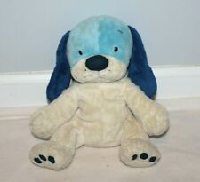 "Target Blue Puppy Dog Plush Stuffed Animal 11"" HTF  White Floppy Stuffed Animal"