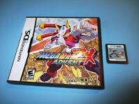 Mega Man ZX Advent Nintendo DS Lite DSi XL w/Case (No Manual)