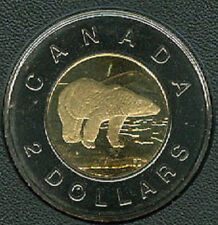 2000-W Proof-Like Twoonie $2 Two Dollar '00 Canada/Canadian Coin Un-Circula B1