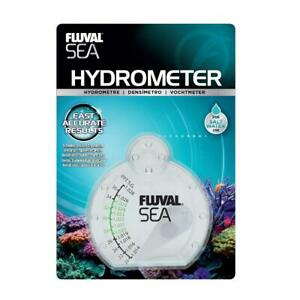 Fluval Sea Hydrometer Specific Gravity Salt Water Marine Fish Tank Aquarium