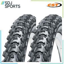 "2x CST EIGER 26"" X 1.95 ATB MTB 26 INCH MOUNTAIN BIKE CYCLE TYRES (1 PAIR)"