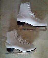 Women's Recreational Figure Skates - White - Size 10