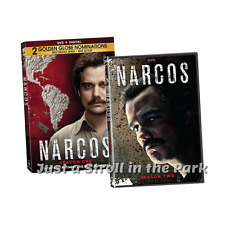 Narcos: Complete Pablo Escobar TV Series Seasons 1 & 2 Box / DVD Set(s) NEW!