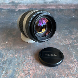 Minolta AF 75-300mm F4.5-5.6  Telephoto Zoom Lens for Sony A / Minolta AF