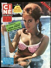 Ciné Télé Revue 29/11/1962; Jackie Lane/ Simone Signoret/ Jean Marais/ Connie F