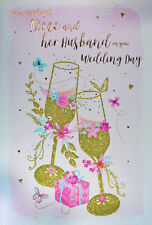 Niece & Husband Wedding Day Card