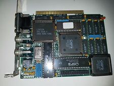 Working 8 Bit ISA Spega Rev 1.2 EGA Video Card IBM 5150 5160 5170 5154