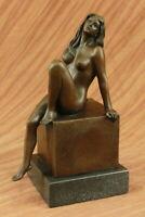 Nude Exotic Female by Bronze by Milo Sculpture Statue Figurine Figure Home Decor