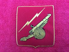 FIELD ARTILLERY PATCH COLOR OF PATCH IS RED