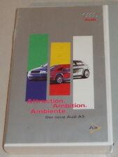 VHS Video Audi A3 8L - Attraction. Ambition. Ambiente. Der neue Audi A3.