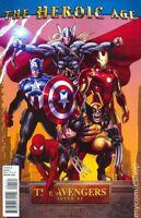 Avengers #1 Greg Land Heroic Age Variant (2010) Marvel Comics