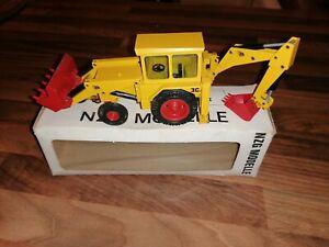 NZG105 1:35 JCB 3C11 Loader   Excavator DieCast Model Boxed Rare Early Version