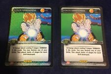 Dragon Ball Z TCG Promo Goku's Kamehameha Card 2x