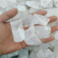 White crystal Ore Crushed Gravel Stone Chunk Lots Degaussing Improve Cheaply
