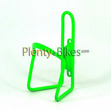 Lime Green Colored Alloy Aluminum Bike Bicycle Water Bottle Holder Mount Cage