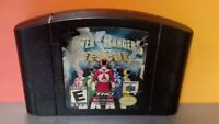 Power Rangers Light Speed Rescue *Authentic* - Nintendo 64 N64 Game Rare Tested