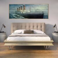 Galvanized rustic home decor art metal wall hanging painting 3d modern wall art