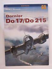 Kagero Book: Dornier Do 17/Do 215 - 194 photographs, 13 painting schemes, scale