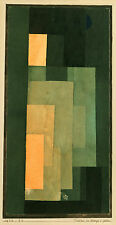 Paul Klee Reproduction: Tower in Orange and Green - Fine Art Print