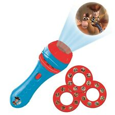 LEXIBOOK Toy Torch Light and Projector with 3 Discs, 24 Images, Create Your o...