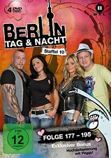 4 DVDs  * BERLIN - TAG & UND NACHT - STAFFEL 10 - FOLGE 177-195 # NEU OVP &