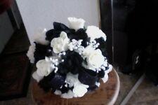 WEDDING BRIDAL BOUQUET BRIDE FLOWERS DECORATIONS PACKAGE YOUR COLORS