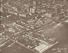 "LONG BEACH PIKE Aerial Photo ROLLERCOASTER Print 866 11"" x 14"""