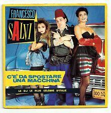 SALVI Francesco Vinyle 45T SP C'E DA SPOSTARE UNA MACCHINA - D-J ITALIE POLYDOR