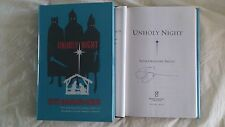New SIGNED Seth Grahame-Smith Unholy Night Book 1/1 HC DJ Three Kings Nativity