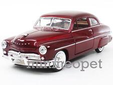 MOTORMAX 73225 1949 49 MERCURY COUPE 1/24 DIECAST RED