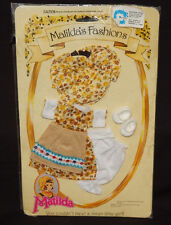 ABITO MATILDA'S FASHIONS MATILDA DOLL CLOTHE DRESS KLEID VINTAGE OUTFIT PEDIGREE