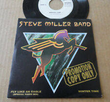 "DISQUE 45T PROMO DE THE STEVE MILLER BAND  "" FLY LIKE AN EAGLE """