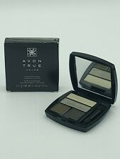 Avon True Color Eyeshadow Quad Khaki Style