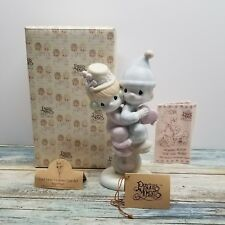 Precious Moments Figurine - Lord Help Us Keep Our Act Together - 101850 1985