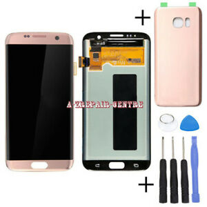 For Samsung Galaxy S7 Edge G935F Rose Gold LCD Display Touch Screen Replace Part
