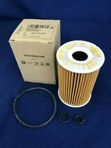 Genuine Volkswagen Tiguan Engine Oil Filter 2.0L TDI 4cyl Engine 2011-2016