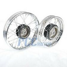 PW80 PY80 FRONT REAR RIM WHEEL SET FOR YAMAHA COYOTE 80 PW PY 80 P RM24+RM25