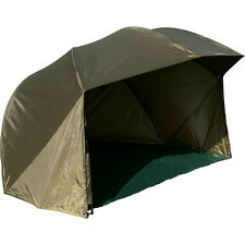 TF Gear 60 inch Oval Umbrella Fishing Shelter Strong Brolly Waterproof Ex Demo