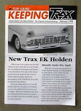 KEEPING TRAX 1998 NEWS UPDATE 1/43 diecast model EK HOLDEN TORANA XU1 SANDMAN V8