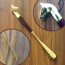 32cm Shoe Lifter Luxury horse Head Copper Shoe Horn, Shoespooner, festival gift